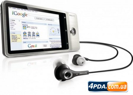 Philips GoGear Connect - новый Android плеер