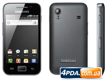 Samsung Galaxy Ace - новый Android-смартфон