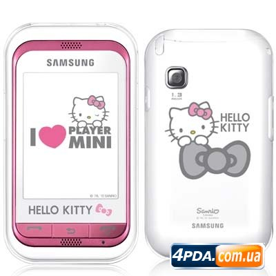 Samsung представила телефон С3300 Hello Kitty уже в России