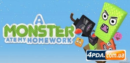 A Monster Ate My Homework - Аркада для Андроид!