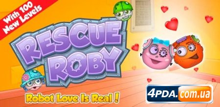 Rescue Roby - головоломка для ANDROID