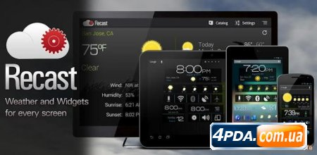 Recast Weather and Widgets