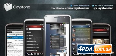 Claystone Launcher